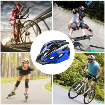 Adjustable Lightweight Bicycle Helmet with Visor Sport Headwear Cycling Bicycle Helmet