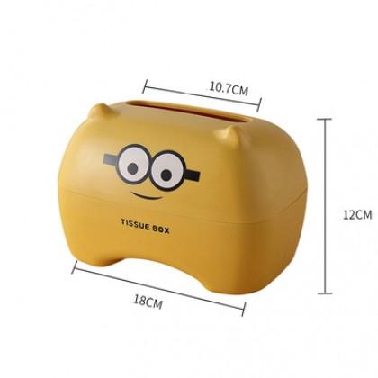 Minion Cartoon Design Tissue Box Cover Napkin Facial Holder Paper Towel Dispenser Container