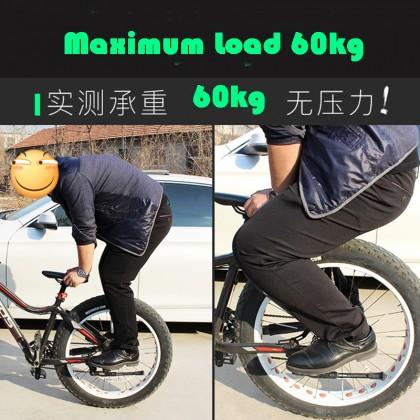 Aluminum Alloy Bicycle Pole Stand Foot Column Mountain Bike Station Leg 2pcs (1Pair)