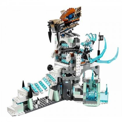 Bela No.10296 CHIMO Sir Fangar's Ice Fortress 668 Pcs Building Blocks Toy