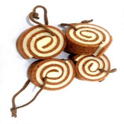 Rosemary Spa Swiss Roll Bath Sponge
