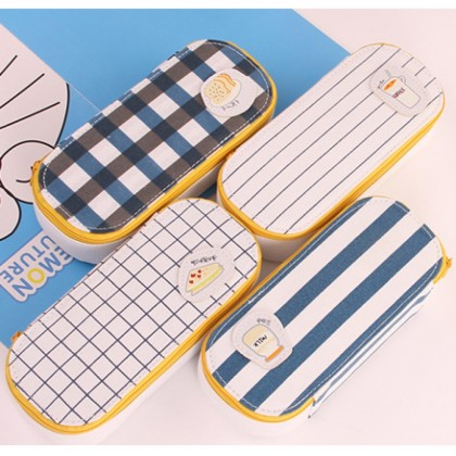 Korea Design Large Capacity Morning Breakfast Pencil Case/ Storage Case