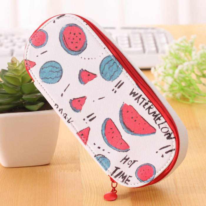 Korea Design Large Capacity Fruits Pencil Case/ Storage Case - photo#26
