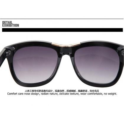 Korea Artist Designer Man Sunglasses With Case 96938