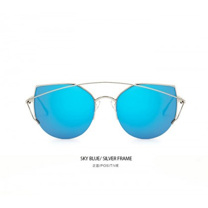 Korea Design Super Light Metal Mirror Sunglasses KS8026