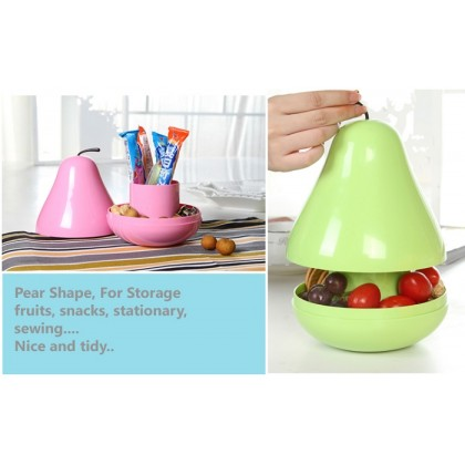 Pear Pod Container
