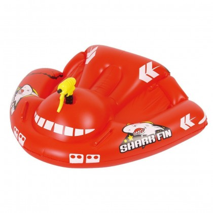 Jilong Children Inflatable Swimming Boat Shark Fin Airplane Rider Baby Seat Boat
