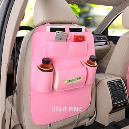 Car Seat Back Multi-Pocket Storage Bag Organizer Holder Accessory
