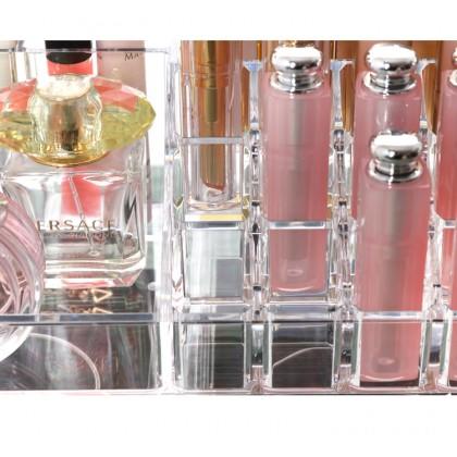 Arcylic Cosmetic 4 Drawer Make Up Jewelry Storage Large Organizer 8804-2