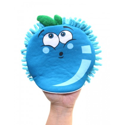 Rosemary Blueberry Puppets Bath Glove