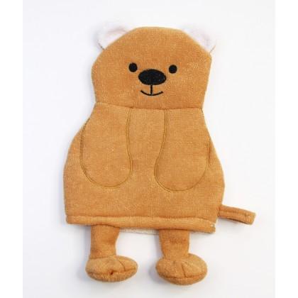 Rosemary Bear Puppets Bath Scrubber Glove