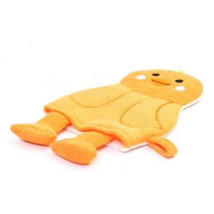 Rosemary Little Chicken Puppets Bath Scrubber Glove