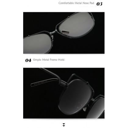 97210 Korea Design Metal Woman Sunglasses