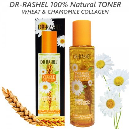 DR-RASHEL 100% Natural Toner With Wheat & Chamomile Collagen 200g