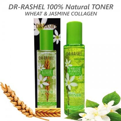 DR-RASHEL 100% Natural Toner With Wheat & Jasmine Collagen 200ml