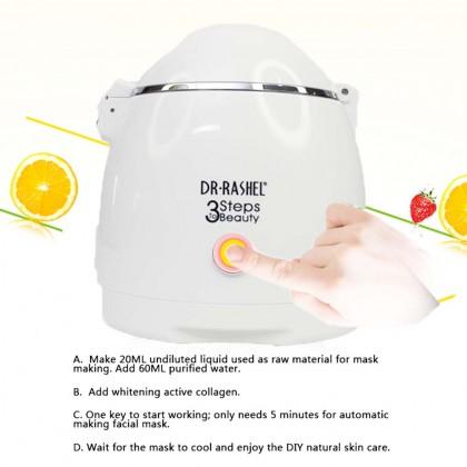 DR-RASHEL DIY 3 Steps To Beauty Facial Mask Machine