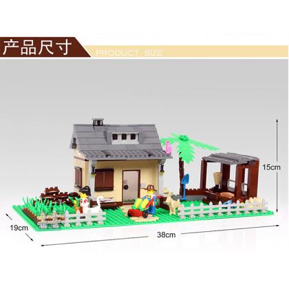 Dr.Luck Building Happy Farmland No.34202N