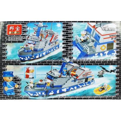 BanBao Blocks & Building Toys Stealth Missile Boats No.8248