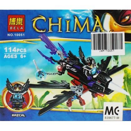 Bela No.10051 Chimo Razcal Blocks & Building Toys