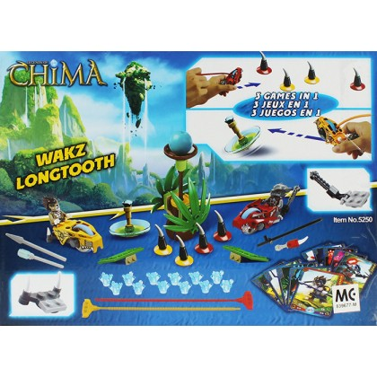 Decool No.5250 Legends of Chima 2 In 1 Wakz Longtooth Blocks & Building Toys