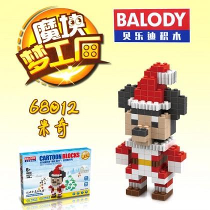Balody No.68012 Cartoon Blocks Building Toys
