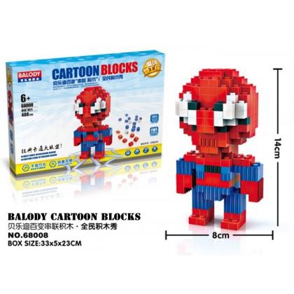 Balody No.68008 Cartoon Blocks Building Toys