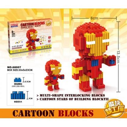 Balody No.68007 Cartoon Blocks Building Toys