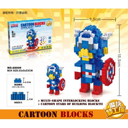 Balody No.68009 Cartoon Blocks Building Toys