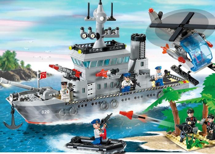 Enlighten Combat Zones Series Blocks & Building Toys No.820