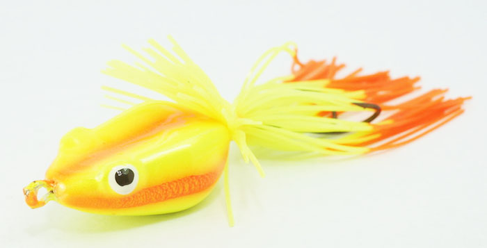 Spider King Flat Back Jumping Sound Frog With Spinner Bait Lure Fishing Hook