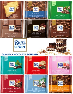 Ritter Sport Cocoa Mousse, 3.5 OZ (100g)