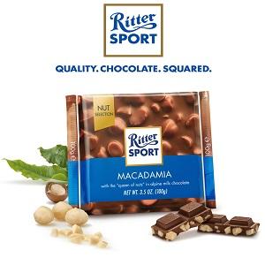 Ritter Sport Macadamia, 3.5 oz (100g)