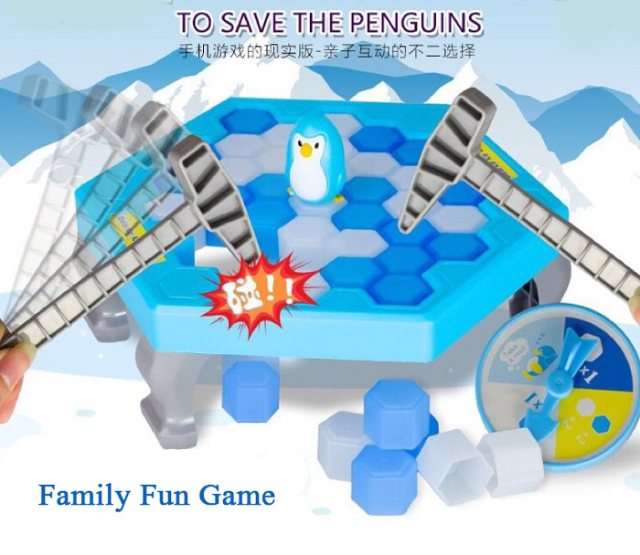 Ice Breaking Save The Penguin Great Family Fun Game - Penguin Traps