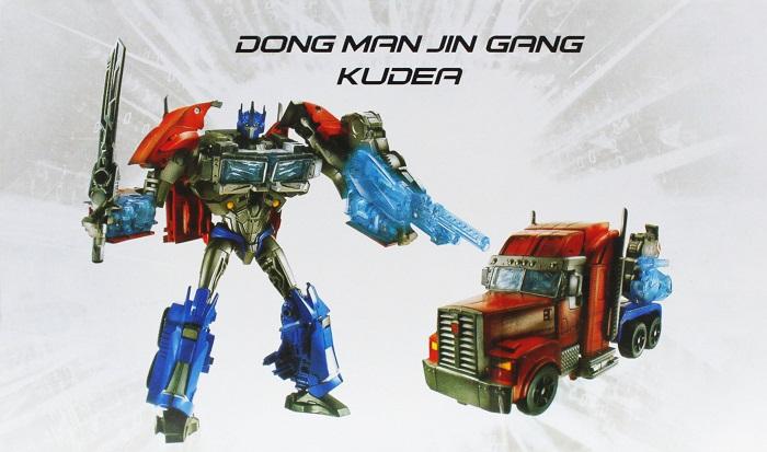 Taikongzhans Kudea Optimus Prime Robots in Digsuise No.K801