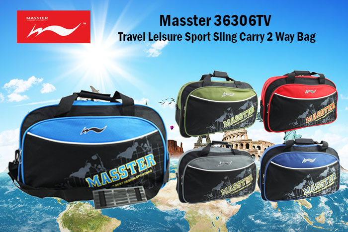 Massterbag 36305TV Travel Casual Hand Carry Outdoor Duffle Sling Grab Handle Gym Sport Bag