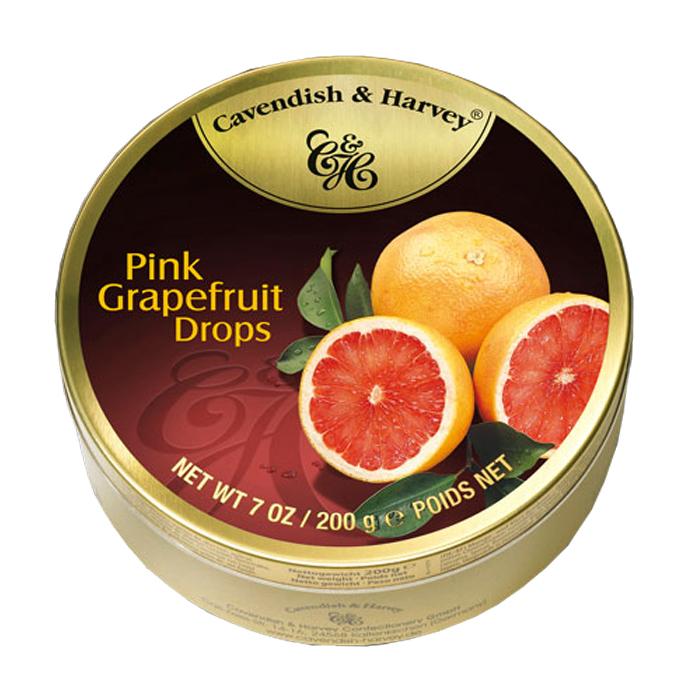 Cavendish & Harvey Pink Grapefruit Drops 7 OZ/ 200G