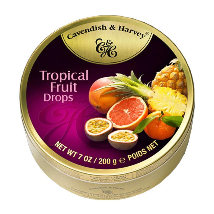 Cavendish & Harvey Tropical Fruit Drops 7 OZ/ 200G