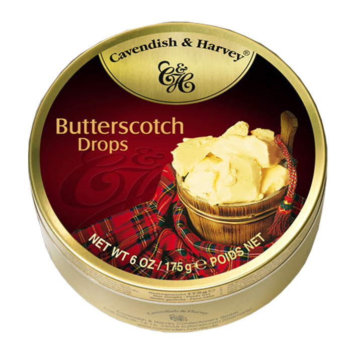 Cavendish & Harvey Butterscotch Drops 6 OZ/ 175G