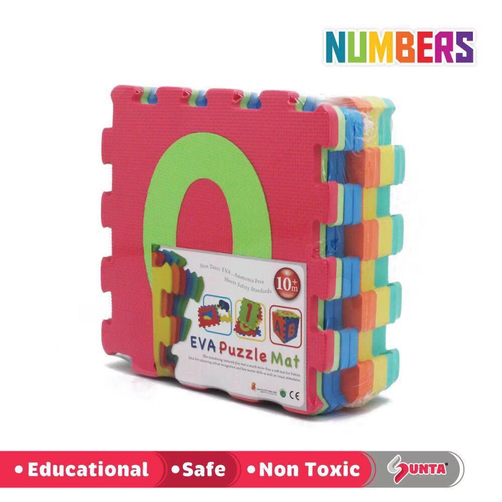Sunta Number Puzzle Carpet Baby Play Mat Floor Puzzle Mat Eva