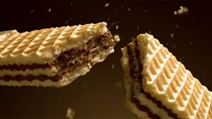 Loacker Crispy Wafer Filled With Cacao And Chocolate Cream 175G