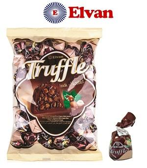 Elvan Truffle Hazelnut Chocolate 500G