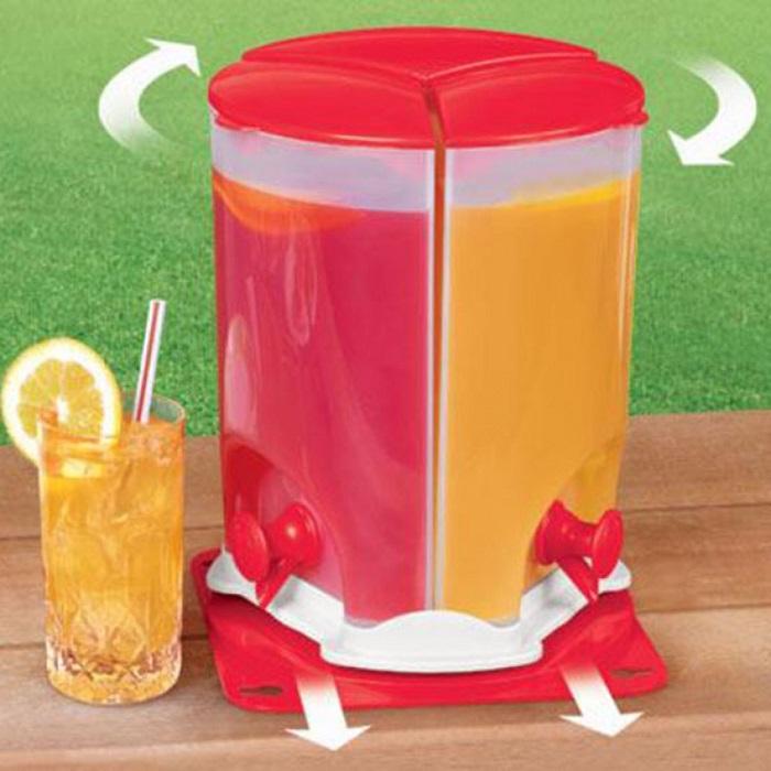 3 Compartment Drink Dispenser