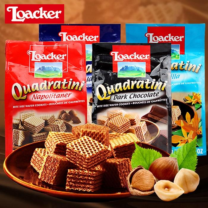 Loacker Quadratini Chococlate 250G