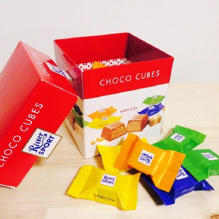 Ritter Sport Choco Cubes 176G (22pcs)