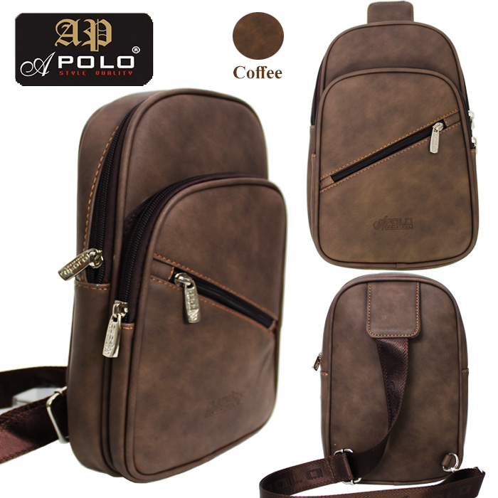 Apolo 36331SL Men Messager Outdoor Casual Chest Cross Body Sling Bag