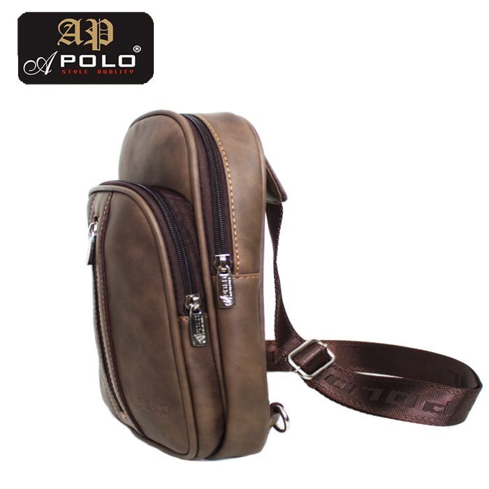 Apolo 36332SL Men Messager Outdoor Casual Chest Cross Body Sling Bag
