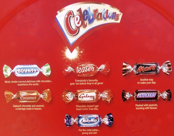 Mars Celebrations Chocolate 240G