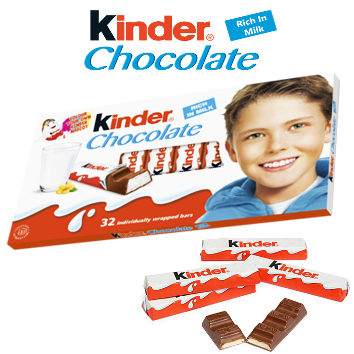 Kinder Chocolate 32 Bars 400G