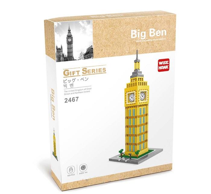 Wise Hawk 2467 Big Ben 3D Building Block DIY Toy Gift