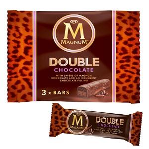 Magnum Double Chocolate 3 x Bars 111G (3 x 37G)